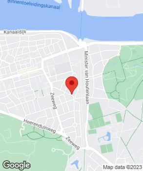Locatie Automobielbedrijf C. van Oudenaaren op kaart