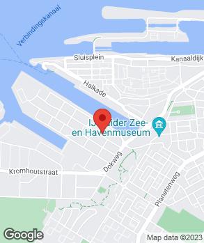 Locatie Autobedrijf Van den Brom op kaart