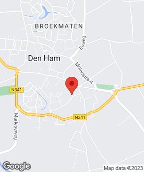 Locatie Wierbos Auto's op kaart