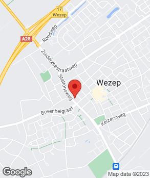 Locatie Automobielbedrijf Vika-Wezep op kaart
