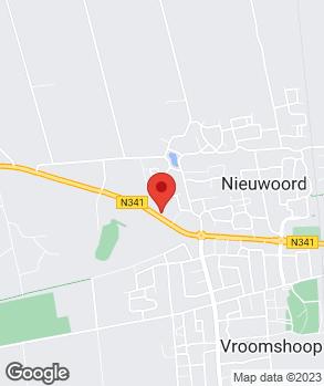 Locatie Autobedr. J. v. Dijk & E.R. v. Dijk-Marissen op kaart
