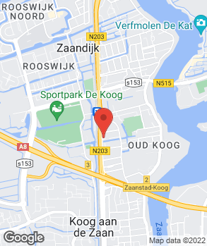 Locatie Auto Koog B.V. op kaart