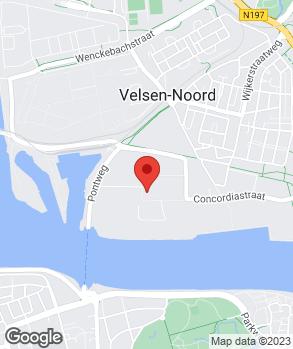 Locatie De Garage op kaart