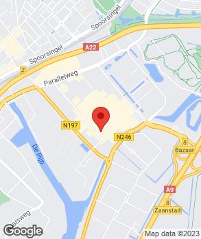 Locatie Autobandenservice Van der Aar op kaart