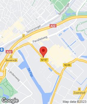 Locatie Autobedrijf Hans van Batum op kaart