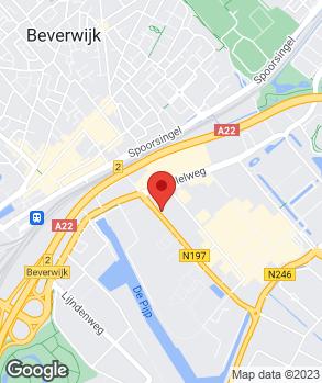Locatie Dekkerautogroep Beverwijk op kaart
