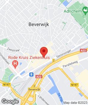 Locatie AutoBeverwijk op kaart