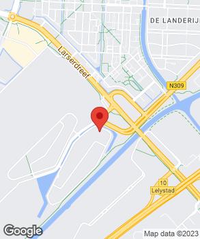 Locatie Bosch Car Service Lelystad B.V. op kaart