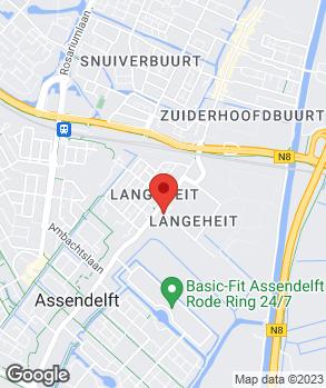Locatie Garage Veenis B.V. op kaart