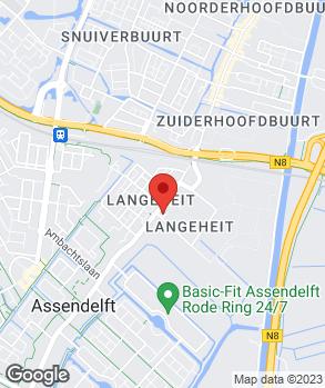 Locatie Garage Veenis B.V. | Autobedrijf Rovee-Veenis op kaart
