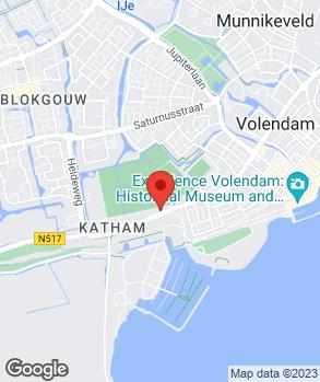 Locatie Autobedrijf Molenaar B.V. op kaart