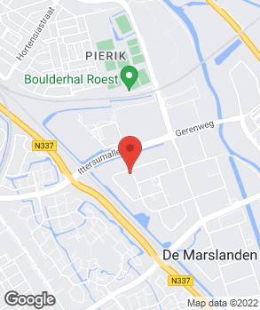 Locatie JR Auto Zwolle op kaart