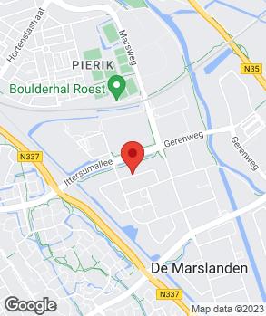 Locatie Vaartland.nl Zwolle op kaart