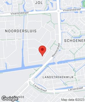 Locatie Automobielbedrijf De Boorder op kaart