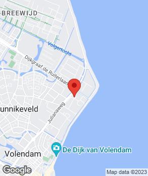 Locatie Autobedrijf Gebroeders Kil Volendam B.V. op kaart