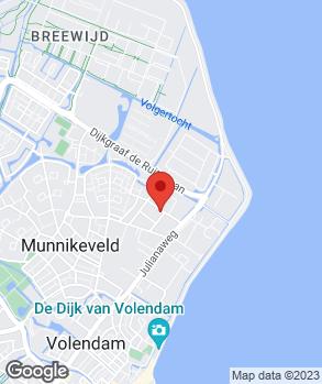 Locatie Auto & Bandenservice Volendam op kaart