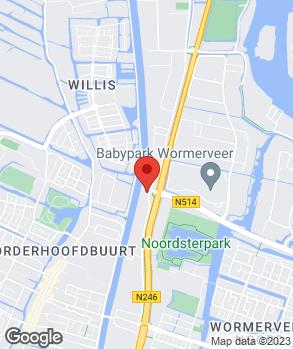 Locatie Motoport Wormerveer B.V. op kaart