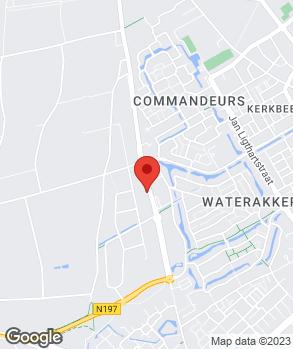 Locatie Ton Weijsters Autocenter op kaart
