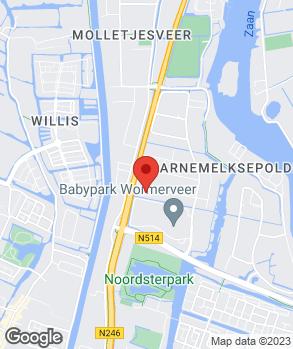 Locatie De Bruijn Auto's B.V. op kaart