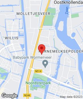 Locatie Saab Specialist Zaanstad op kaart