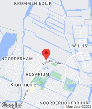 Locatie Profile Car & Tyreservice Krommenie op kaart