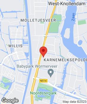 Locatie Autotop op kaart