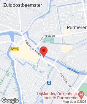 Locatie Automobielbedrijf W. Zijp B.V. op kaart