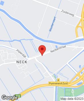Locatie Handelsonderneming Jan Kok op kaart