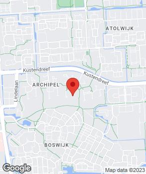 Locatie Jan van der Weert op kaart