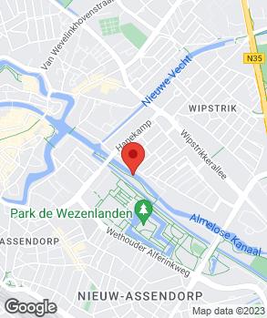 Locatie Seelmann Handelsbedrijf op kaart