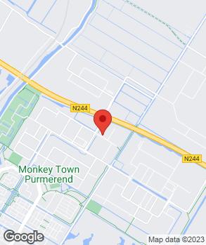Locatie Louwman Purmerend op kaart