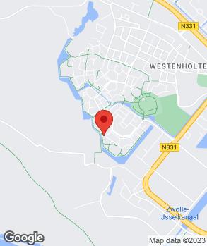 Locatie JD Auto's op kaart