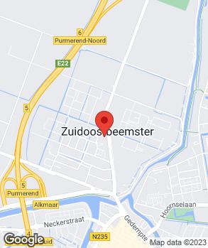 Locatie Autobedrijf Dijt Zuidoostbeemster B.V. op kaart