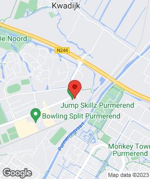 Locatie Autobedrijf Romp op kaart