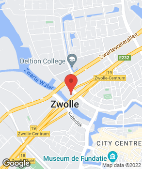 Locatie Euromaster Zwolle op kaart