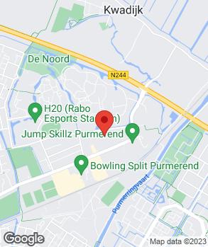 Locatie Autobedrijf De Koog op kaart
