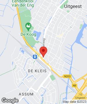Locatie Garage Piet Sanders B.V. op kaart