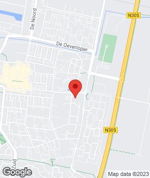 Locatie Broekhuis Dronten B.V. op kaart