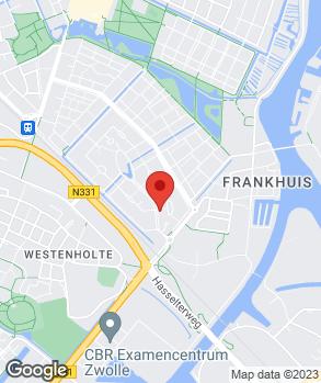 Locatie G. Drenth Auto's op kaart