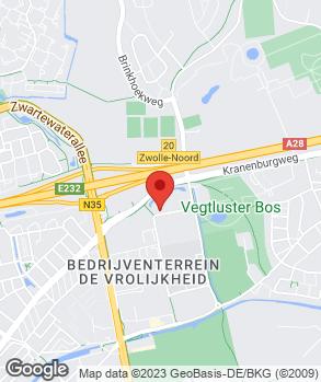 Locatie Van Leussen Zwolle B.V. op kaart