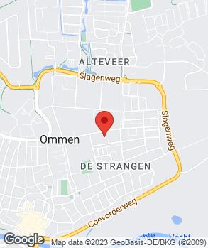 Locatie V.O.F. Autoschade Huijsmans op kaart