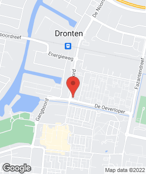 Locatie A-Point Service Dronten op kaart