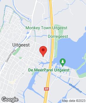 Locatie Autobedrijf Uitgeest op kaart