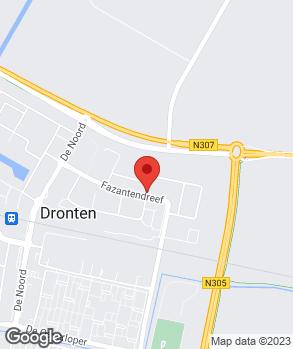 Locatie Snelgarage Dronten V.O.F. op kaart