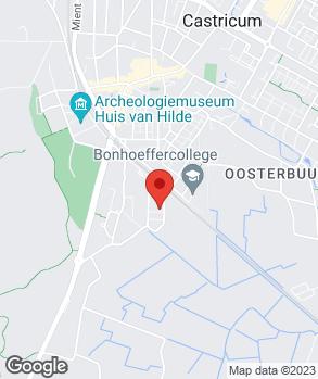 Locatie Autobedrijf Castricum op kaart