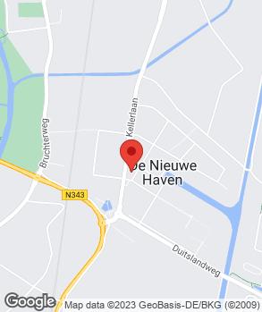 Locatie Auto Service Hardenberg op kaart