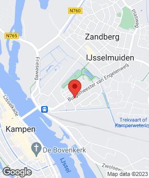 Locatie V.O.F. Autoserv. & Ger.sch. E.J. v.d. Molen op kaart
