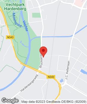 Locatie Pouw Hardenberg op kaart