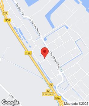 Locatie Sarox B.V. op kaart