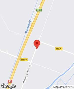 Locatie Jonkman Infra Techniek op kaart